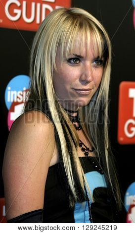 Suzie McNeil at the TV Guide and Inside TV 2005 Emmy After Party at the Roosevelt Hotel in Hollywood, USA on September 18, 2005.