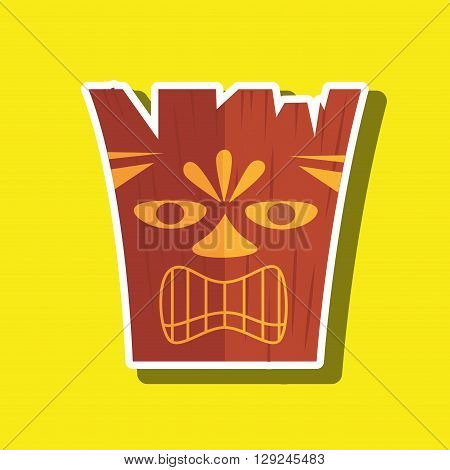 token hawaii design, vector illustration eps10 graphic