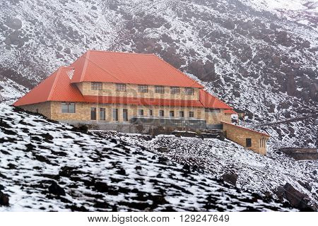 Lodge On Cotopaxi Volcano
