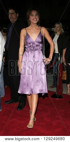 Arielle Kebbel at the Los Angeles premiere of