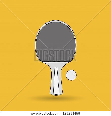 ping pong game design, vector illustration eps10 graphic