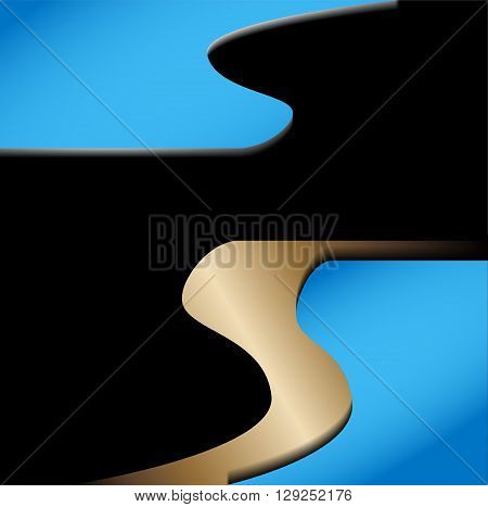 Abstract blue background. Background with blue color