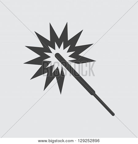 Sparkler icon illustration isolated vector sign symbol