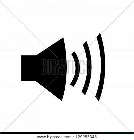 an images of Speaker Volume Icon Illustration design