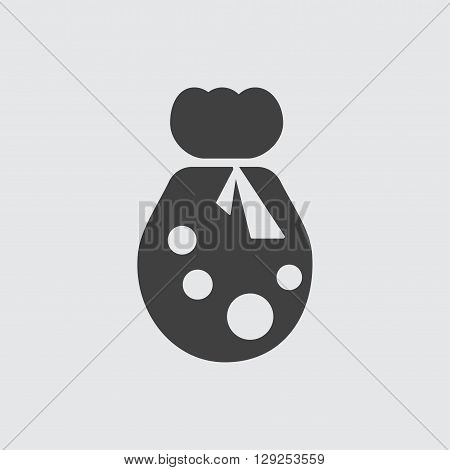 Sack icon illustration isolated vector sign symbol