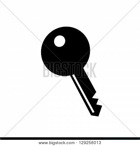 an images of Key Icon Illustration design