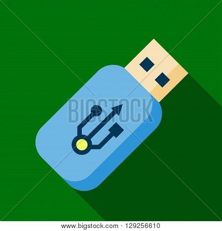 Flash drive icon illustration isolated vector sign symbol