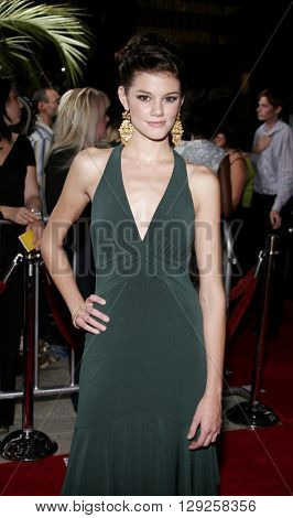 Rachel Melvin at the Los Angeles premiere of