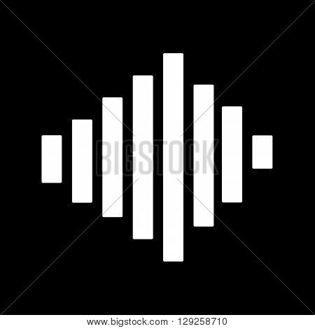 an images of Sound Bars Pulse Icon Illustration design