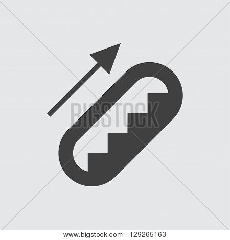Escalator icon illustration isolated vector sign symbol