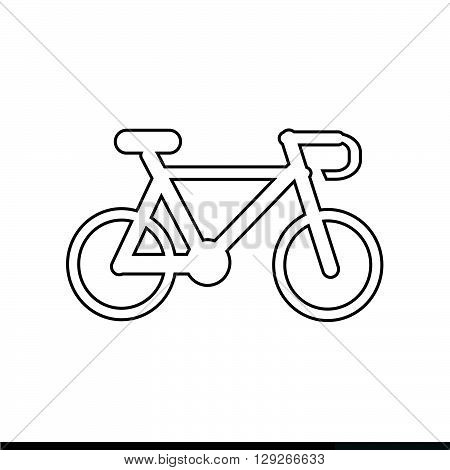 an images of Bicycle icon Illustration design