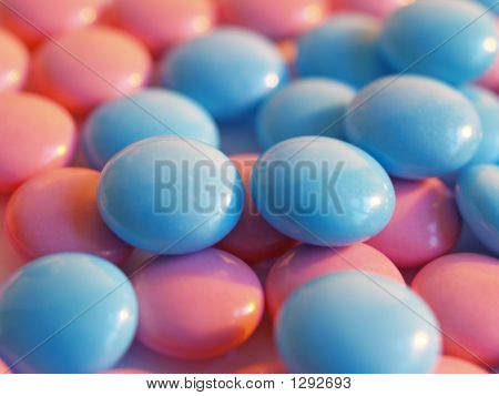 Pink And Blue Pills