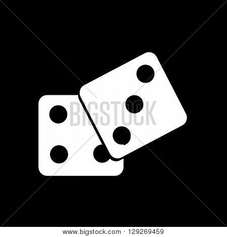 an images of Dice Icon illustration design