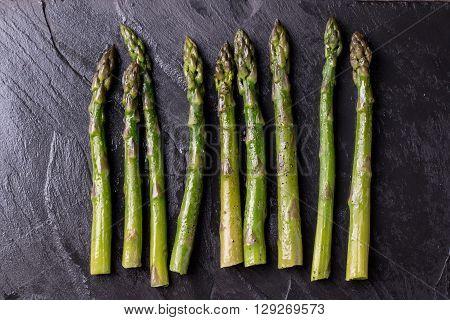 Sauteed Organic Asparagus with Herbs and Garlic
