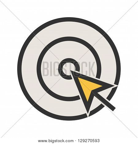 Mouse, cursor, click icon vector image. Can also be used for marketing. Suitable for use on web apps, mobile apps and print media.