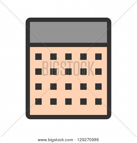 Calculations, business, profit icon vector image.Can also be used for marketing. Suitable for web apps, mobile apps and print media.