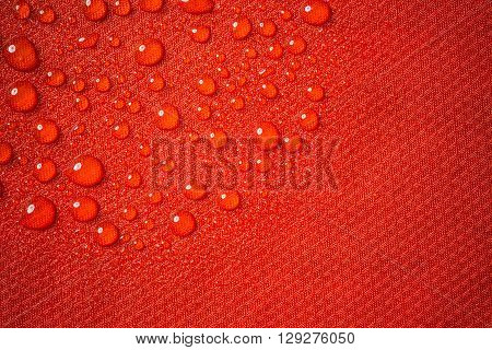 Red Waterproof Fabric