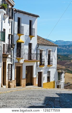 The White Medieval Spanish City of Ronda