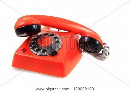 Old Orange Phone