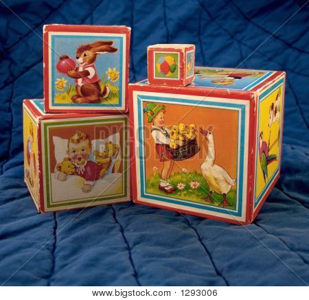 Old Children'S Blocks 3