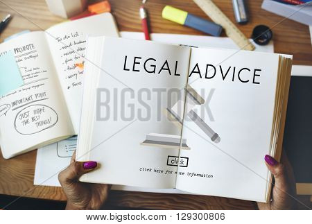 Legal Advice Law Mullet Policy Concept