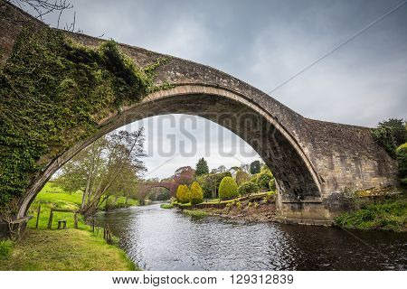 Brig o Doon in Alloway, Scotland the setting for Robert Burns famous poem Tam O Shanter