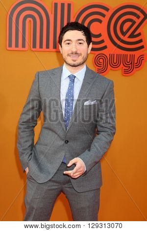 LOS ANGELES - MAY 10:  Jason Fuchs at the The Nice Guys Premiere at the TCL Chinese Theater IMAX on May 10, 2016 in Los Angeles, CA