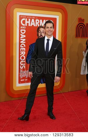 LOS ANGELES - MAY 10:  Matt Bomer at the The Nice Guys Premiere at the TCL Chinese Theater IMAX on May 10, 2016 in Los Angeles, CA