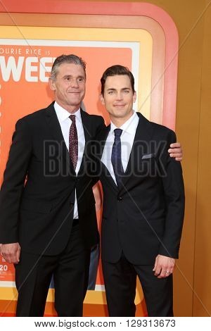 LOS ANGELES - MAY 10:  Simon Halls, Matt Bomer at the The Nice Guys Premiere at the TCL Chinese Theater IMAX on May 10, 2016 in Los Angeles, CA