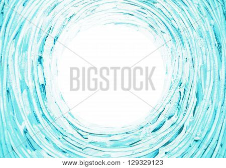 Abstract light background. Concentric twisting rotating brush strokes lines with space for text. Abstract painting. Graphic billet for business cards flyers posters banners leaflets advertising