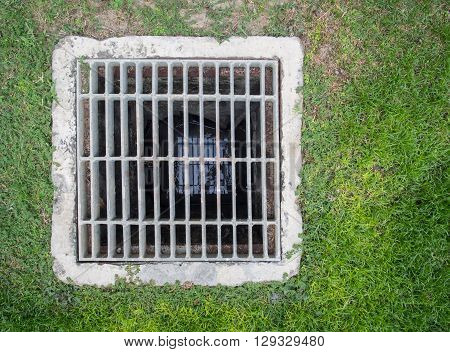 Steel Square Shape Sewer Grate