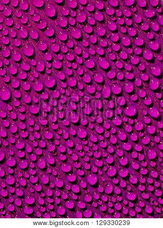 Purple drops background.