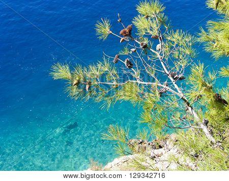 Adriatic Sea, Makarska Riviera, Dalmatia in Croatia
