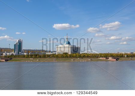 Residence of the President of the Republic of Kazakhstan, located in the city of Astana