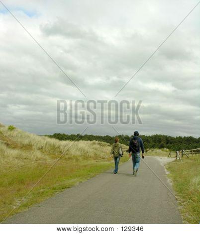 Trekkers On The Road