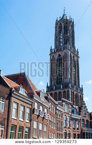 historical St Martins Cathedral in Utrecht Netherlands