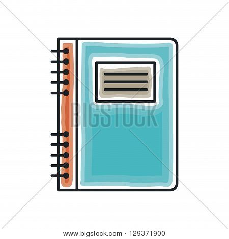 notebook icon  design, vector illustration eps10 graphic