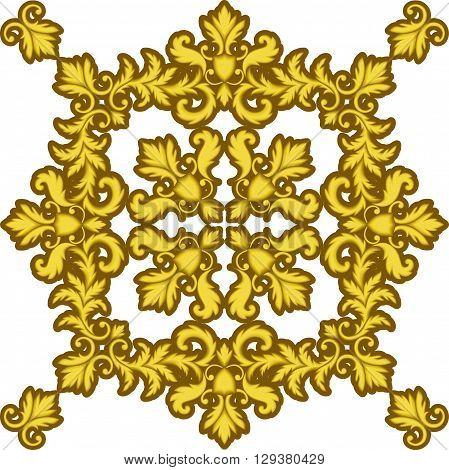 Decorative Gold Frame