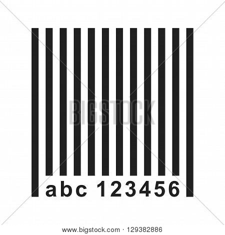 Barcode, scanner, label icon vector image. Can also be used for logistics. Suitable for use on web apps, mobile apps and print media.