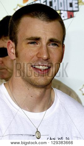 Chris Evans at the Nickelodeon's 20th Annual Kids' Choice Awards held at the Pauley Pavilion in Westwood, USA on March 31, 2007.