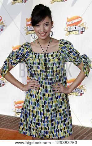 Christian Serratos at the Nickelodeon's 20th Annual Kids' Choice Awards held at the Pauley Pavilion in Westwood, USA on March 31, 2007.