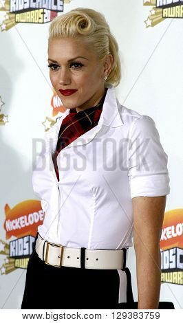 Gwen Stefani at the Nickelodeon's 20th Annual Kids' Choice Awards held at the Pauley Pavilion in Westwood, USA on March 31, 2007.