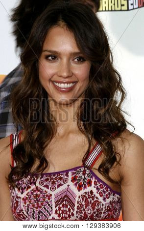 Jessica Alba at the Nickelodeon's 20th Annual Kids' Choice Awards held at the Pauley Pavilion in Westwood, USA on March 31, 2007.