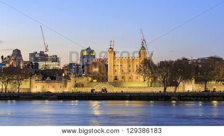 The Famous Tower Of London