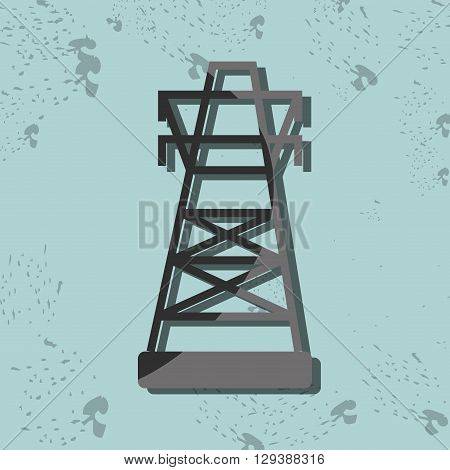 tower energy design, vector illustration eps10 graphic