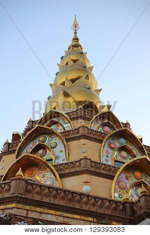 Beautiful Pagoda at Pha Sorn Kaew Temple in Thailand