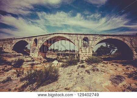 Julien Bridge In Provence, France