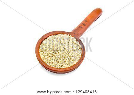 Sesame Seeds In Dipper