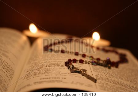 Bible And Rosary VI