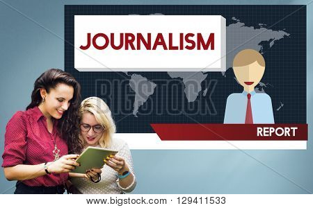 Journalism News Interview Article Content Concept